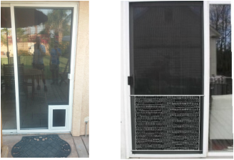 Pet Doors Installed Orlando S Window Screens